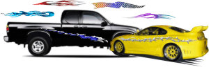 Auto Graphics, Truck Graphics, Car Graphics, Vehicle Graphics, Auto Decals, Car Decals